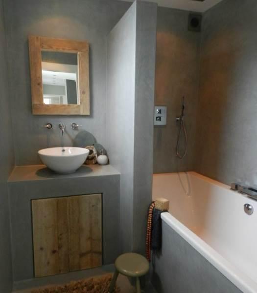 23 140353 beton cire badkamer vloer - Kleur feng shui badkamer ...